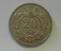 Rakousko 20 Haléř 1908