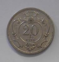 Rakousko 20 Haléř 1911