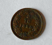Rakousko 5/10 1885