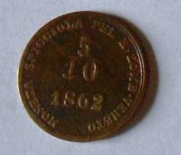 Rakousko 5/10 Soldo 1862