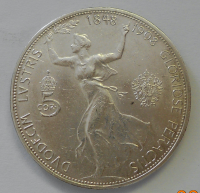 Rakousko 5 Koruna 1948-1908, 60 let vlády