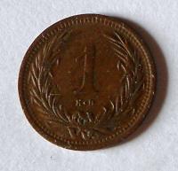 Uhry 1 Fillér 1893 KB