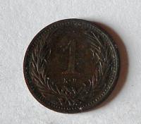 Uhry 1 Fillér 1895 KB