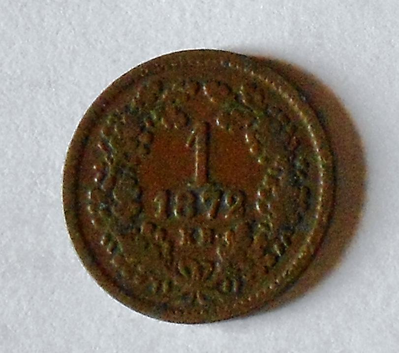 Uhry 1 Krejcar 1872 KB