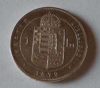Uhry 1 Zlatník/Gulden 1879 KB