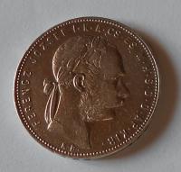 Uhry 1 Zlatník/Gulden 1880 KB
