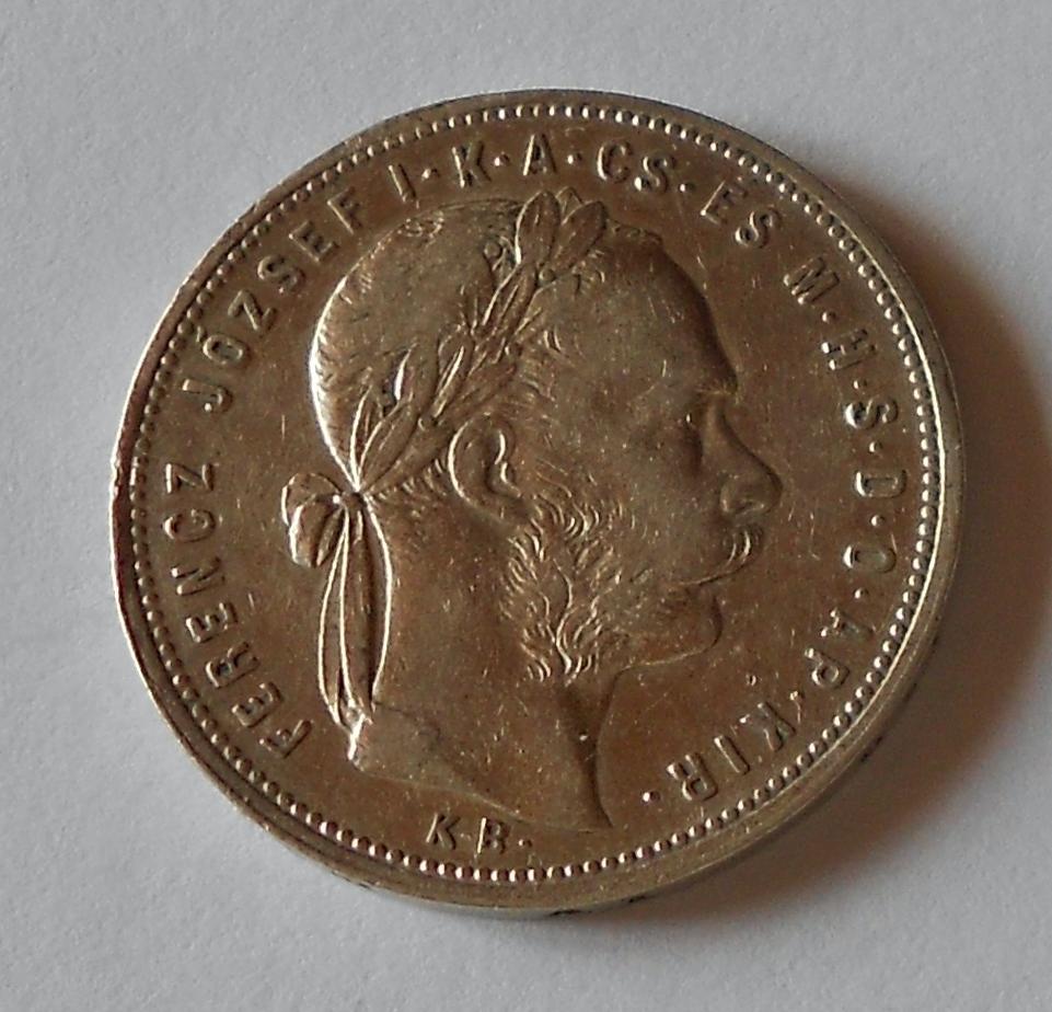 Uhry 1 Zlatník/Gulden 1881 KB