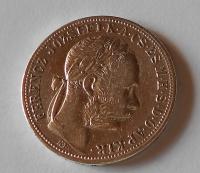 Uhry 1 Zlatník/Gulden 1887 KB