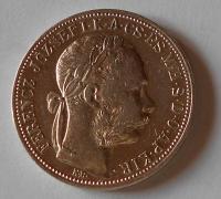 Uhry 1 Zlatník/Gulden 1888 KB, stav
