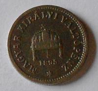 Uhry 10 Fillér 1895 KB