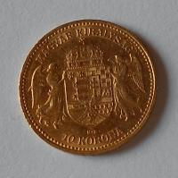 Uhry 10 Koruna 1892 KB