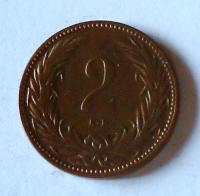 Uhry 2 Fillér 1901 KB