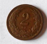 Uhry 2 Fillér 1905 KB
