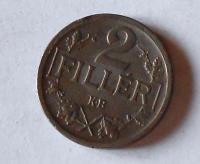 Uhry 2 Fillér 1918 KB, stav