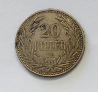 Uhry 20 Fillér 1892 KB