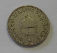 Uhry 20 Fillér 1893 KB