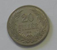 Uhry 20 Fillér 1894 KB