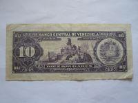 10 Bolivares, 1963, Venezuela