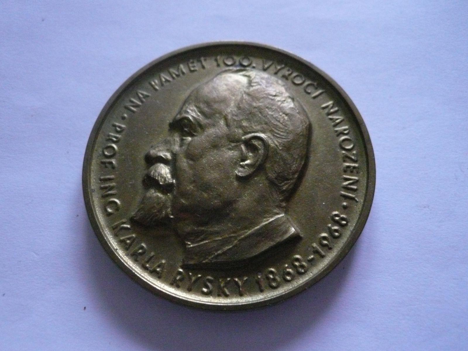 100 let Karel Ryska, 1968, ČSR