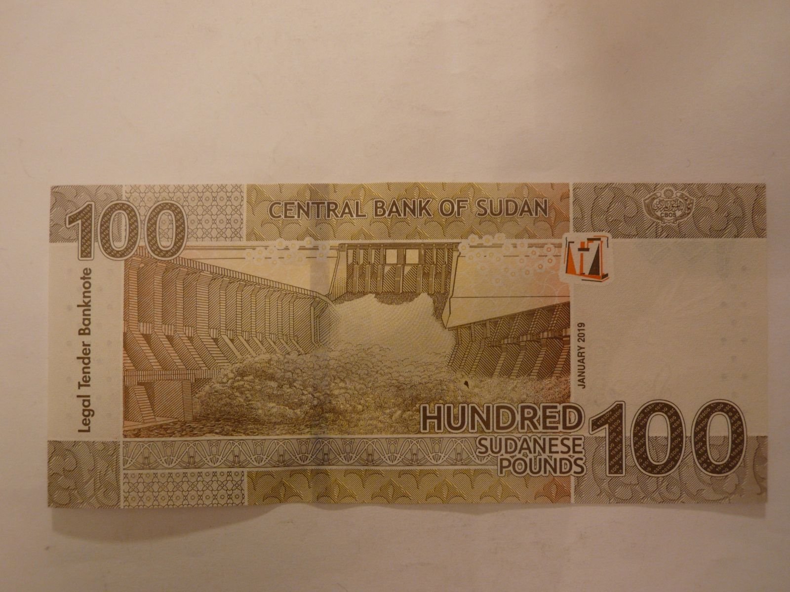 100 Pounds, 2019, Súdán