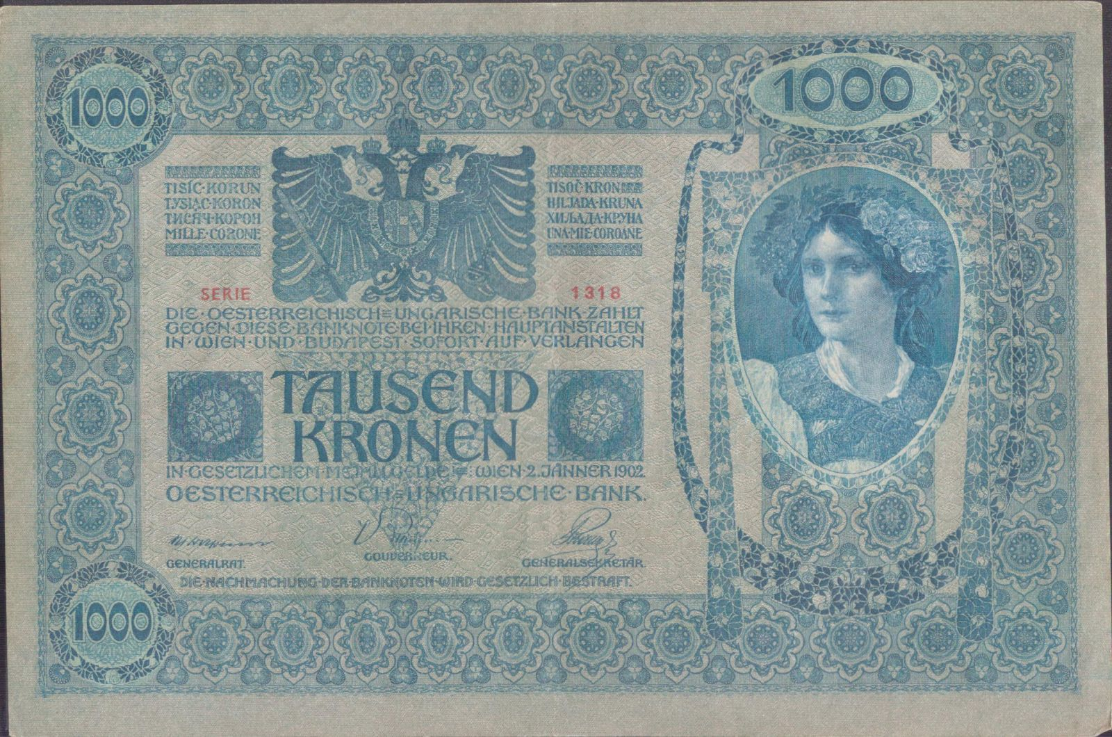 1000K/1902/, stav 1, série 1318