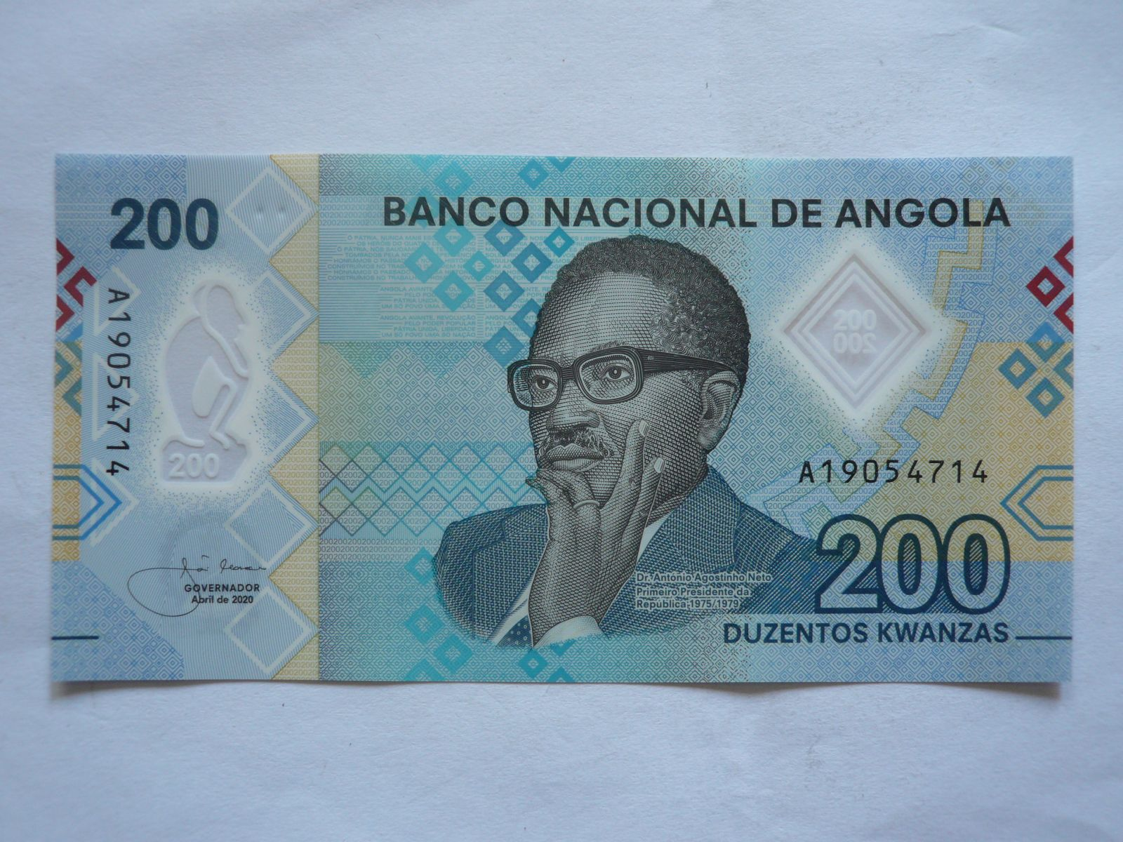 200 Kwanzas, 2020, Angola