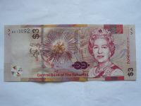 3 Dollar, 2019, Bahamy