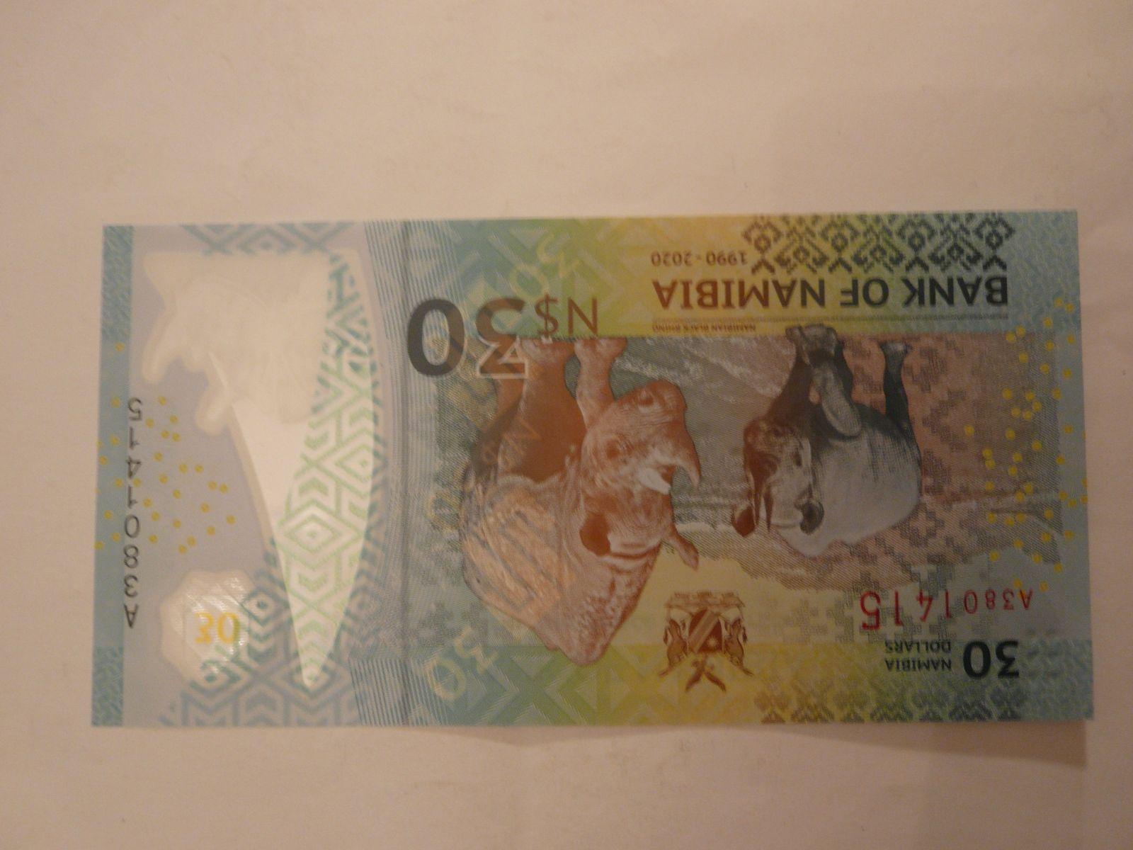 30 Dollars, 1990-2020, Namibie