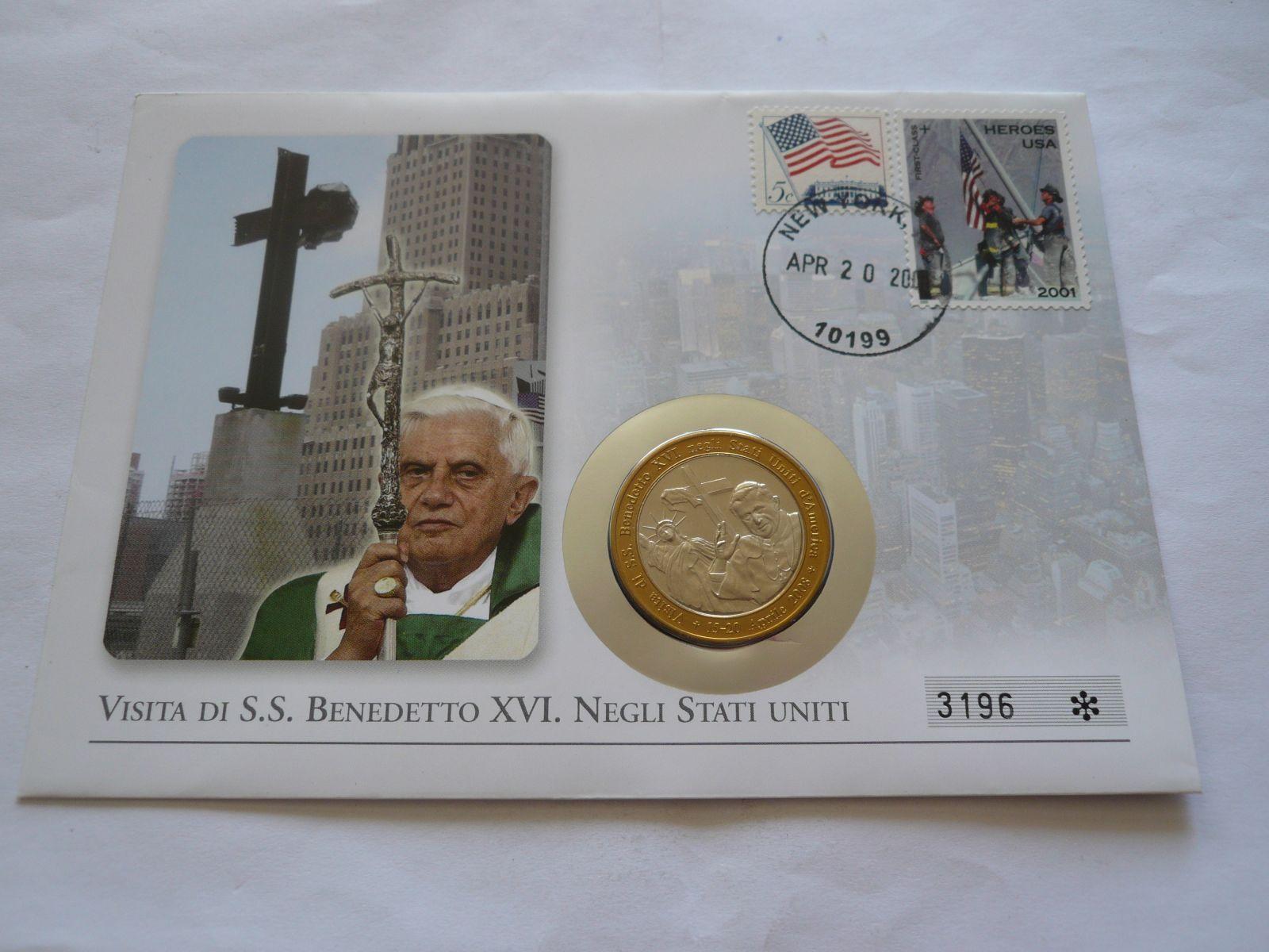 45 Cent, Benedikt XVI., 15-20.4.2008, Vatikán