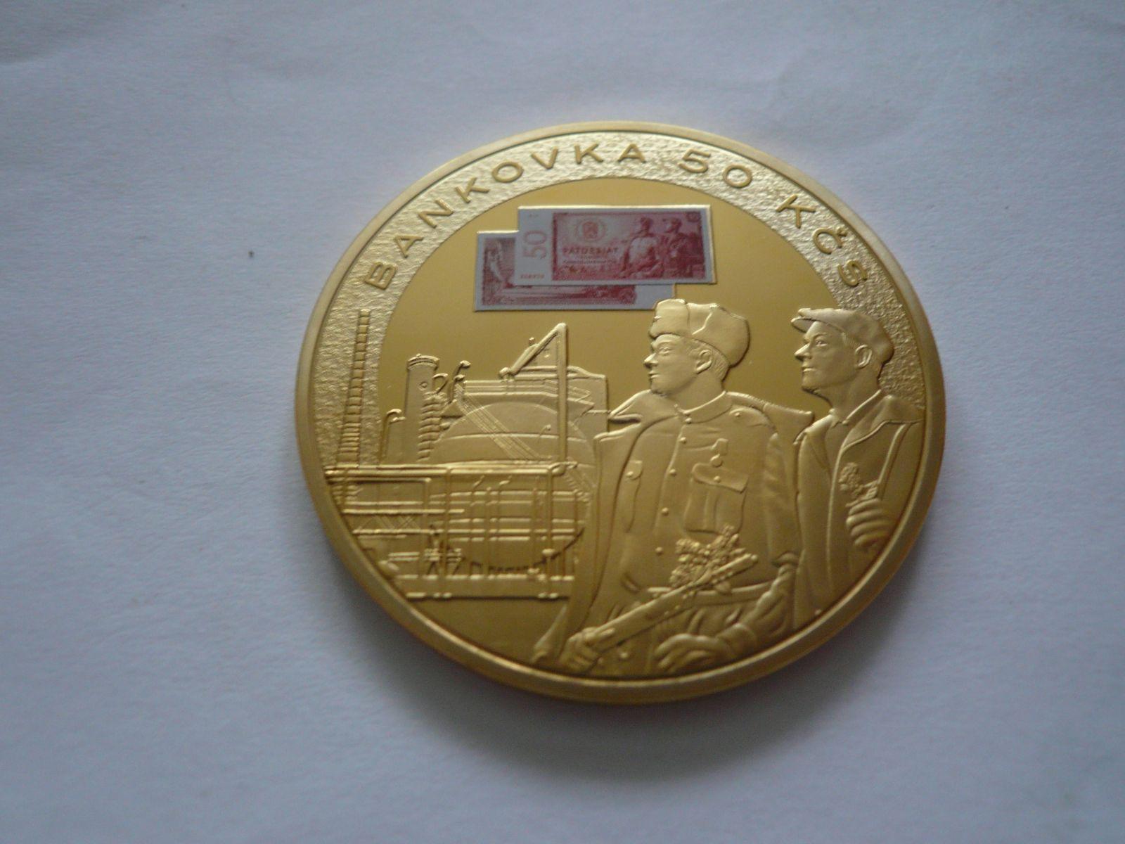 50 Kč, průměr 50mm, ČR