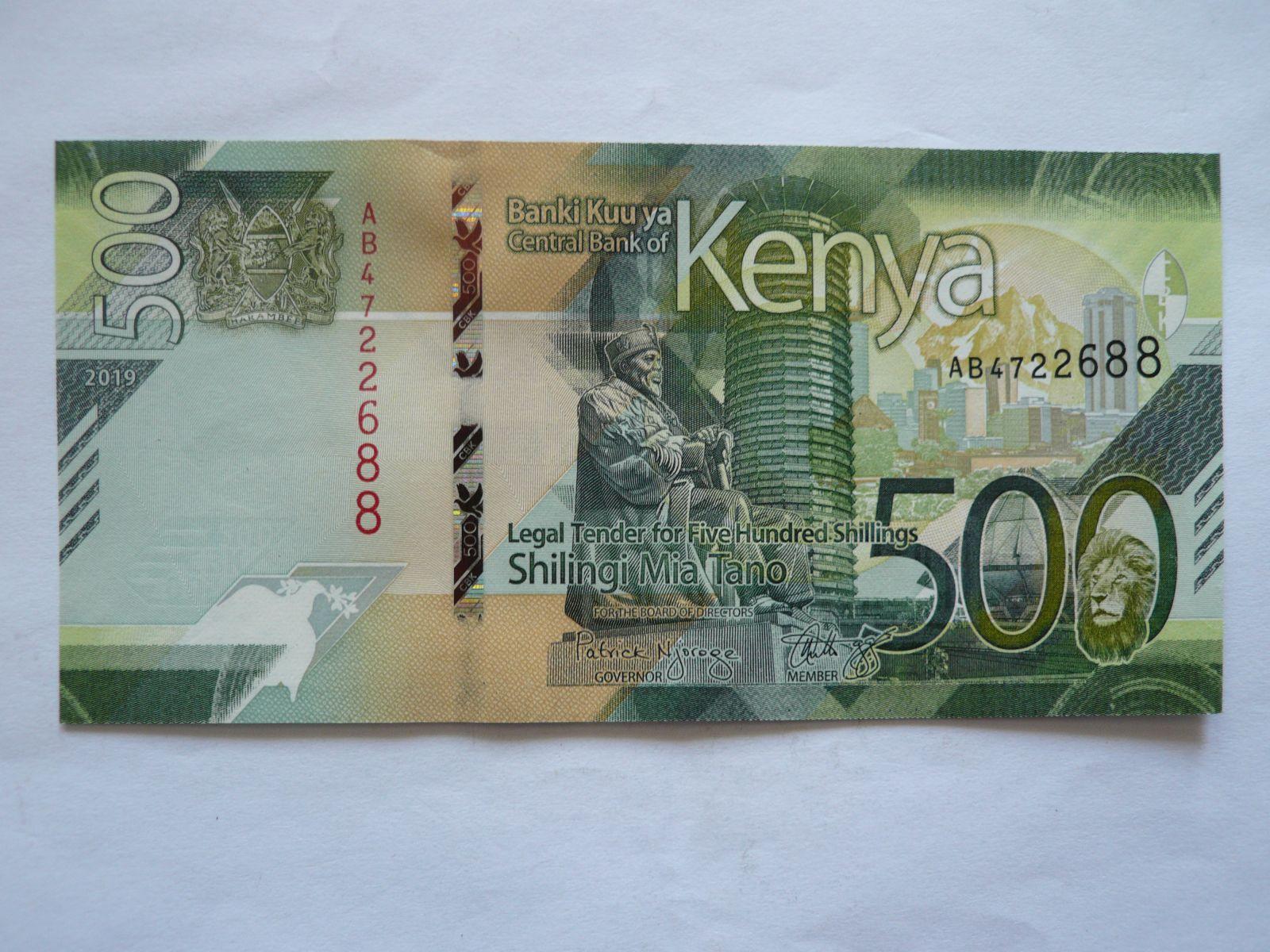 500 Schillingi, 2019, Keňa
