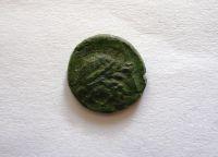 AE-14mm, 214-212 př.n.l., hlava Poseidona, Syrakusy, Řecko-Sicílie