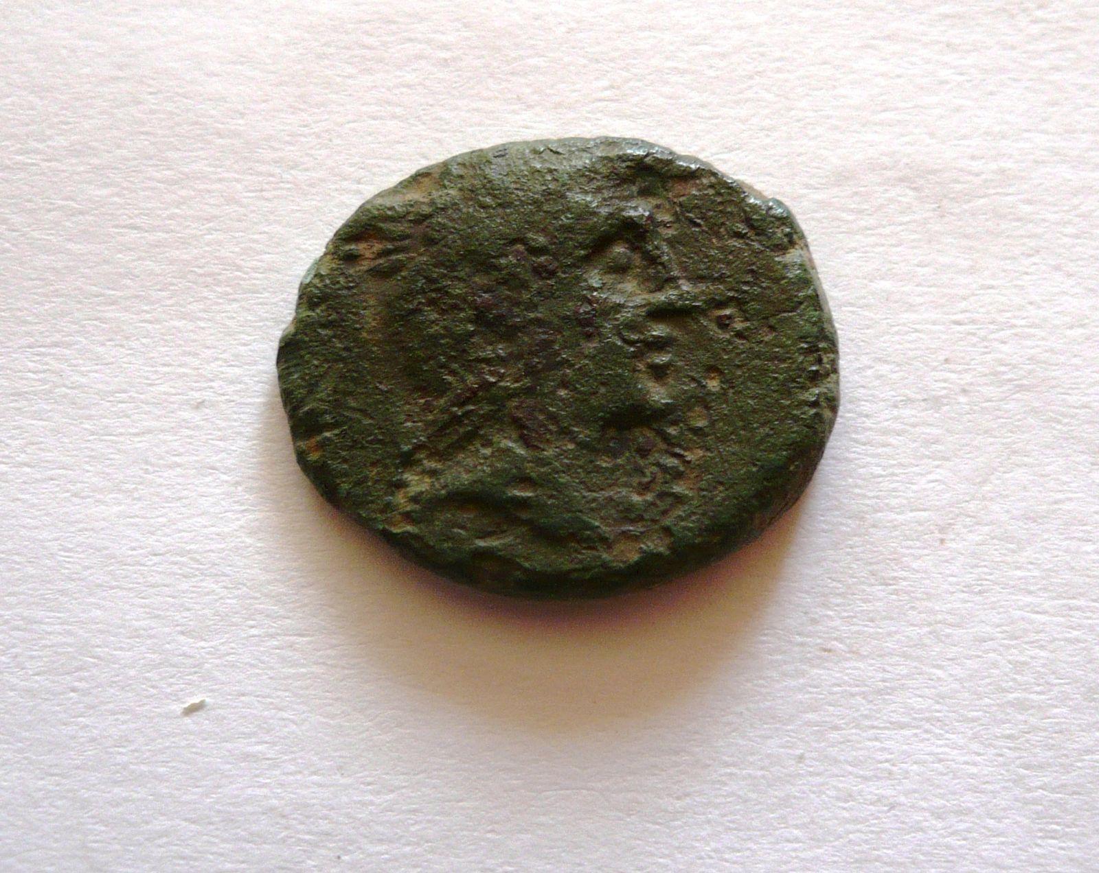 AE-18, PERSEUS, hlava Persea, 179-168 př.n.l., Řecko-Makedonie