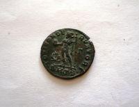AE-25, Follis, Licinius I., 308-24, Jupiter, Řím-císařství