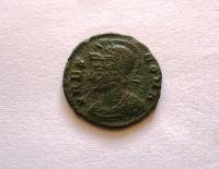 AE 3/4, pamětní ražba, 330-46, Romulus+Remus kojící vlčice, Řím