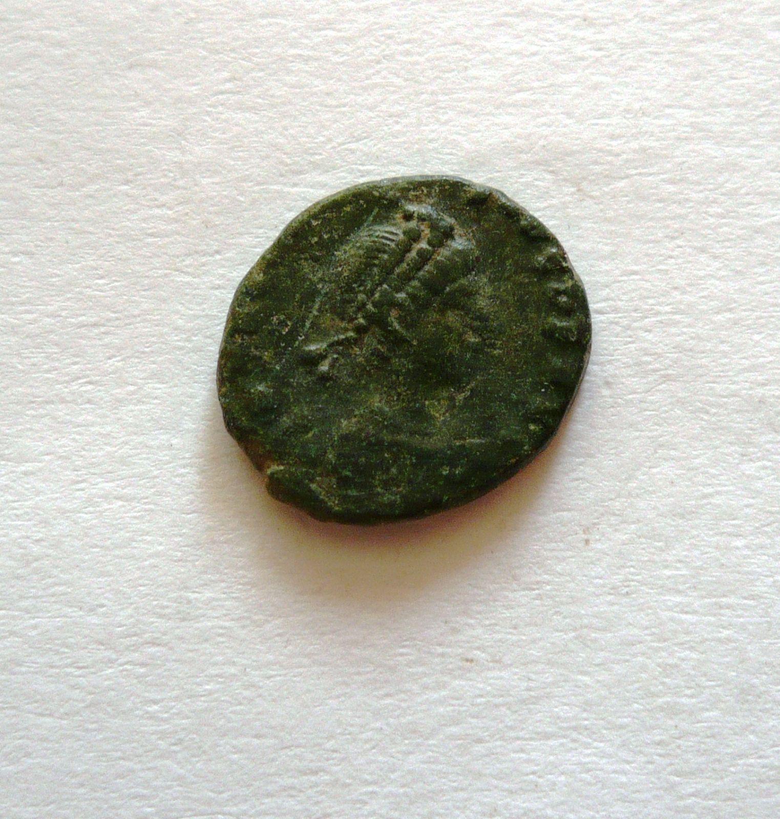 AE-4, Arcadius, 383-403, Viktorie, Řím-císařství