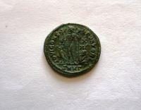 AE-Follis, Licinius II., 317-324, Jupiter+Viktorie, Řím-císařství