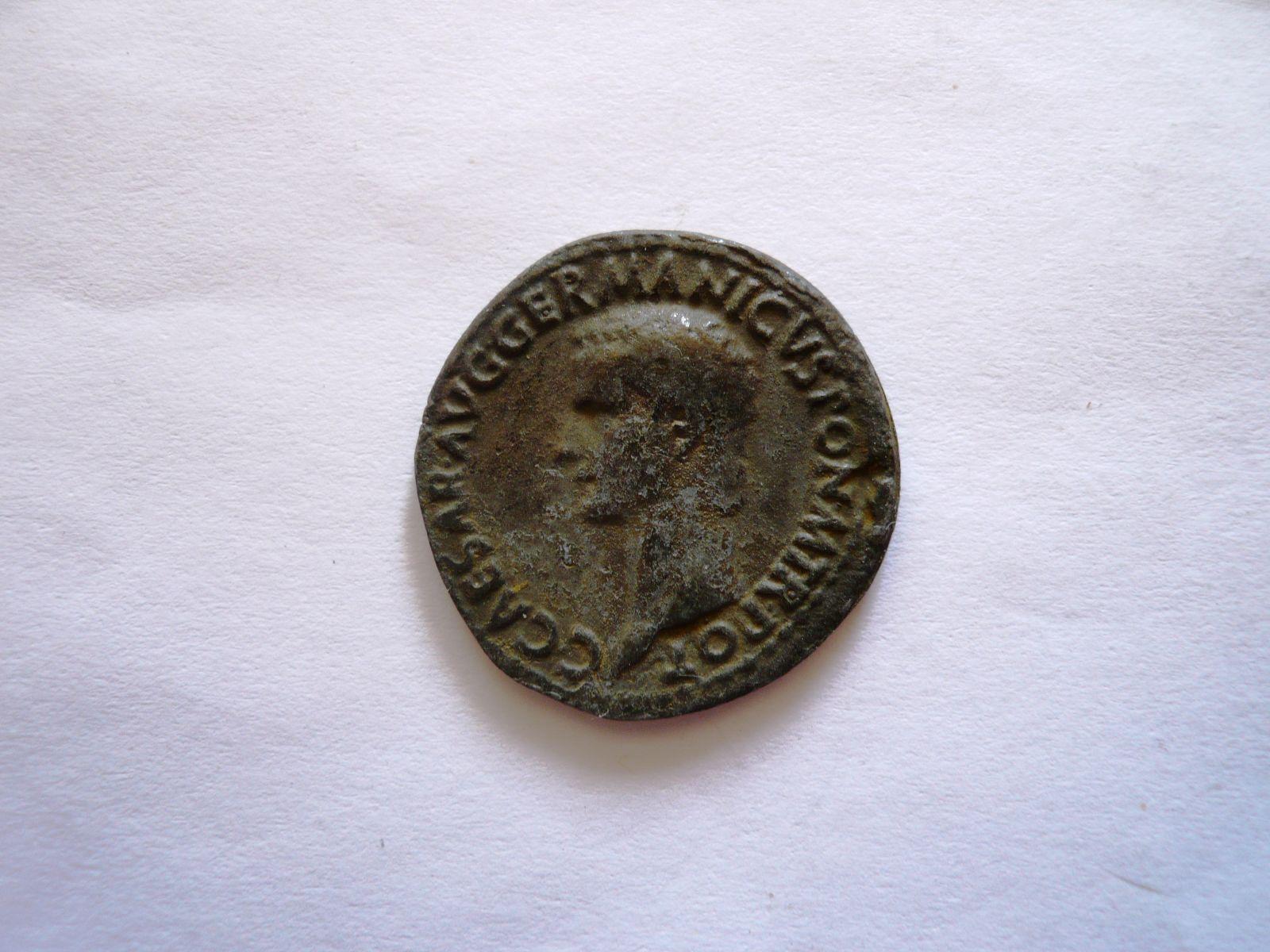 AS, Germanicus, rok 19, 15-19 př.n.l., KOPIE, Řím-republika