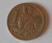 ČSR 1 Koruna 1923