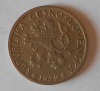 ČSR 1 Koruna 1929