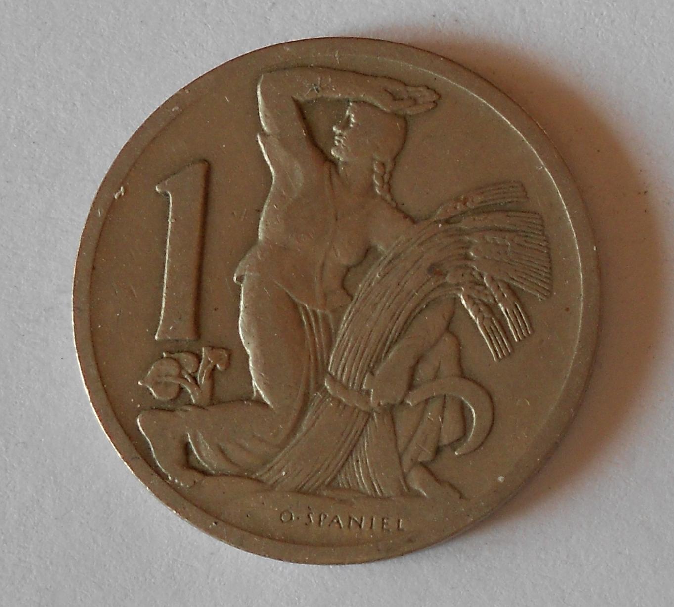 ČSR 1 Koruna 1930