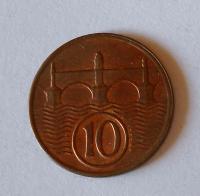 ČSR 10 Haléř 1938, pěkný