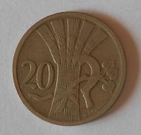 ČSR 20 Haléř 1921