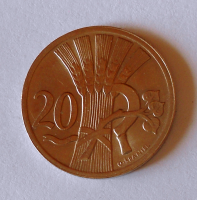 ČSR 20 Haléř 1930, stav