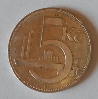 ČSR 5 Koruna 1931