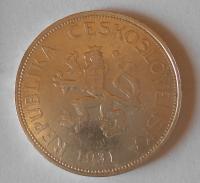 ČSR 5 Koruna 1931, stav