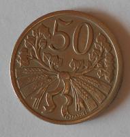 ČSR 50 Haléř 1921, pěkný