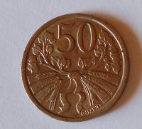 ČSR 50 Haléř 1922, pěkný