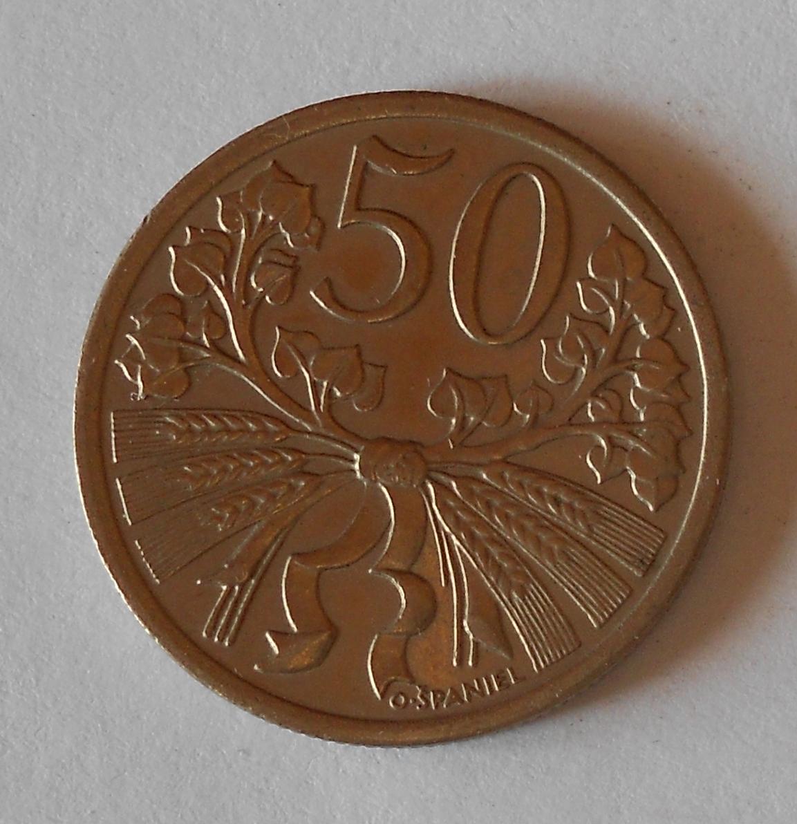 ČSR 50 Haléř 1931, stav