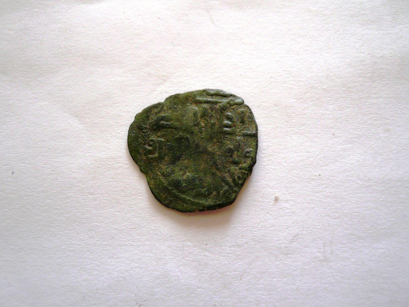 Cu 22 mm, jezdec na koni, Chusro I., 588-597 H, Saldžukovci